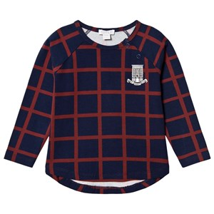Image of Livly Square T-Shirt Navy/Red 12-18 m (3125306233)