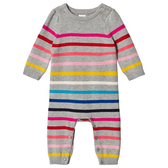 GAP Crazy Stripe One-Piece Grey MULTI STRIPE GREY