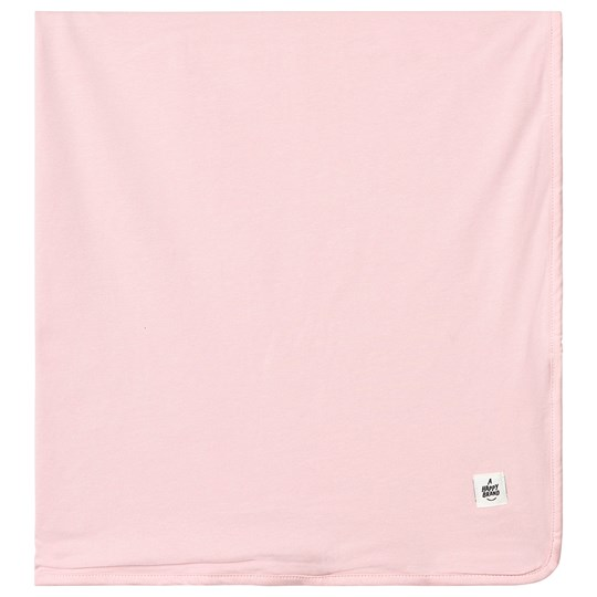 A Happy Brand Reversible Blanket Pink