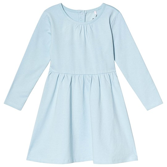 A Happy Brand Long Sleeve Dress Blue