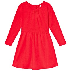 A Happy Brand Long Sleeve Dress Red