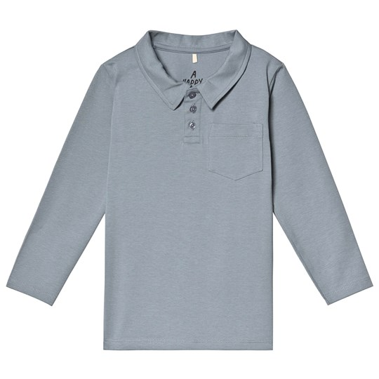 A Happy Brand Polo Shirt Grey