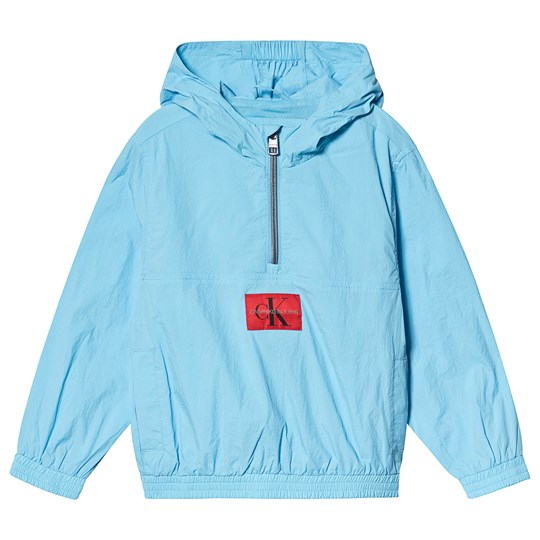 Calvin Klein Jeans Pale Blue Packable Anorak with Bumbag 403