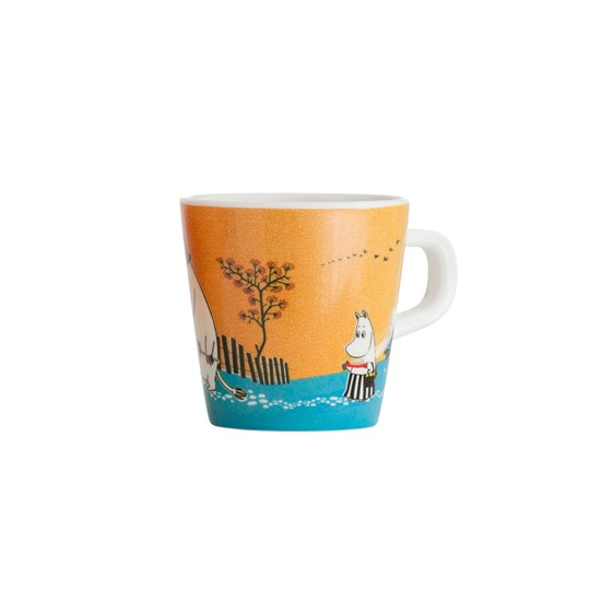 Mumin Forest & Lake Moomin Cup Orange Multi
