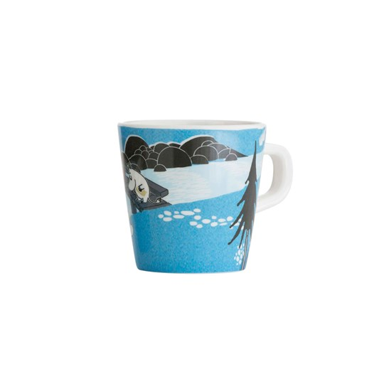 Mumin Forest & Lake Moomin Cup Blue Multi