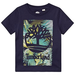 Timberland Navy Palm Tree Tee