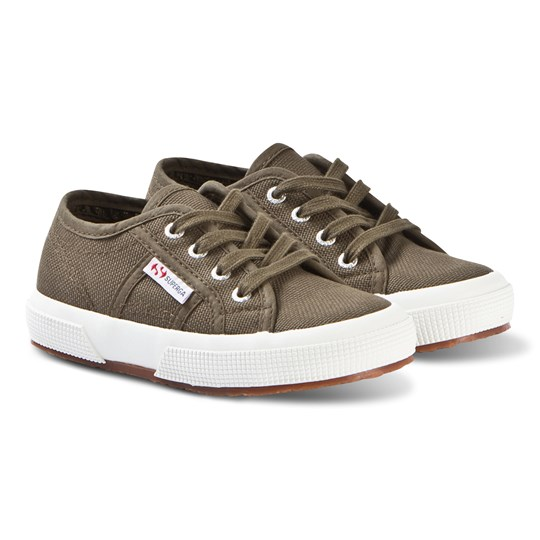 Superga Jcot Classic Canvas Sneakers Grøn 595 MILITARY GREEN