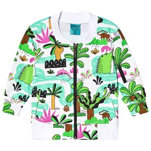 Image of Raspberry Republic Amazing Amazonia Bomber Jacket White 104-110cm (3-5 years) (3135225291)