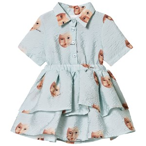 Image of Caroline Bosmans Egg Dress Pale Blue 2 år (3125343765)