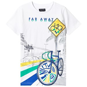 Image of Mayoral White Bicycle T-Shirt 16 years (3125342347)