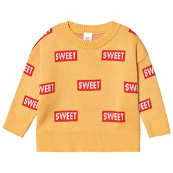 Tinycottons Sweet Sweater Canary/Red