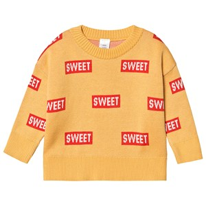 Image of Tinycottons Sweet Sweater Canary/Red 10 år (3125353311)