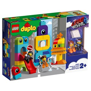 Image of LEGO DUPLO 10895 LEGO® DUPLO® Emmet and Lucy's Visitors from the DUPLO® Planet 24+ months (3125330929)