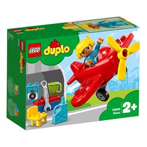 Image of LEGO DUPLO 10908 LEGO® DUPLO® Town Plane 24+ months (3125331051)