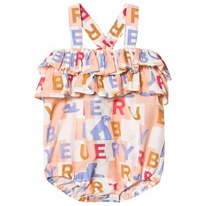 Image of Burberry Multi Branded Caryline Romper 1 month (3148272959)