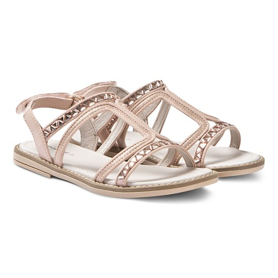Mayoral Metallic Sandals Pink 25