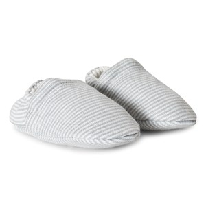 Image of Mori Blue Stripes Crib Booties 0-3 months (3125352975)
