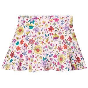 Image of Lands' End Floral Skirt White 10-12 years (3132748477)