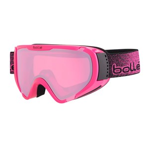 Image of Bollé Explorer OTG Shiny Pink Ski Goggles with Vermillion Gun Lens Small (6+ years) (3125304657)