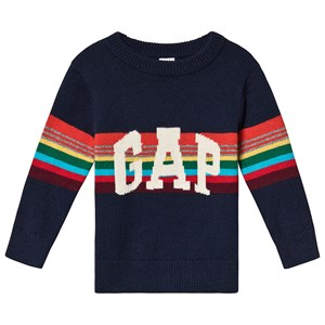 Image of GAP Sweater Tapestry Navy 5 år (3125230233)