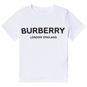 Image of Burberry T-shirt Hvid med Logo 3 years (1336444)