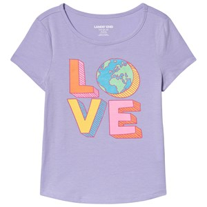 Image of Lands' End Love Tee Lilac 4 years (3132748769)