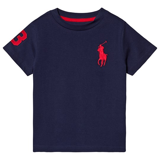 Ralph Lauren Navy Big Pony Tee 021