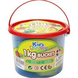 Kid's Dough Playdough 1kg Bucket