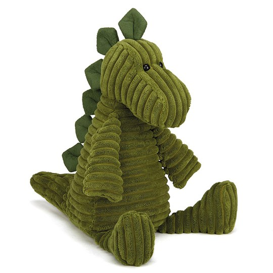 Jellycat Cordy Roy Dino Small, 26 cm Green