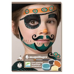 Djeco Pirate Face Paint Kit