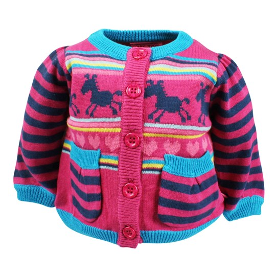 Me Too Otta Baby Knit Cardigan Pink Pink