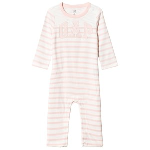 Image of GAP Logo Stripe One-Piece New Off White 12-18 mdr (1201921)