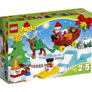 Image of LEGO DUPLO 10837 LEGO® DUPLO® Santa's Winter Holiday 24 months - 5 years (3065592461)