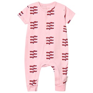 Image of Tinycottons Hey You One-Piece Pink/Red 12 mdr (3151388303)