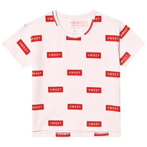 Image of Tinycottons Sweet Tee Sea Perl/Red 18 mdr (3151388307)