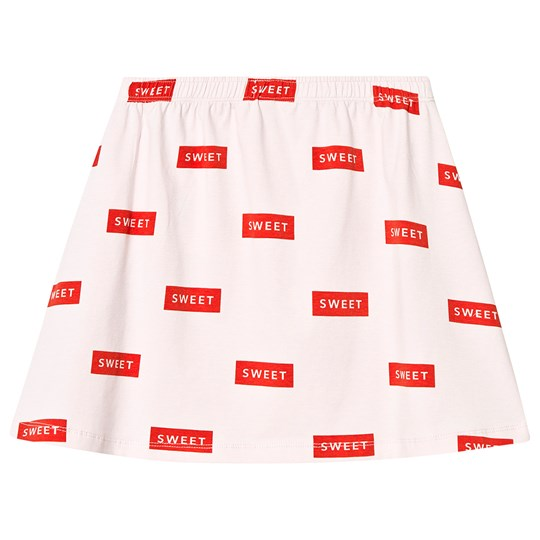Tinycottons Sweet Short Skirt Pearl/Red pearl/red