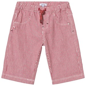 Image of Absorba Red Stripe Pull Up Shorts 6 months (1289931)