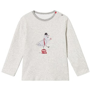 Image of Absorba Reversible London Transport and Pigeon Print Long Sleeve Tee 12 months (3125325735)