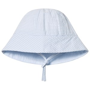 Image of Absorba Blue and White Sun Hat 39 (1-3 months) (3125307623)