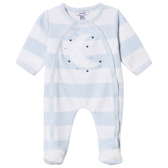 Absorba Pale Blue Moon Footed Baby Body 41