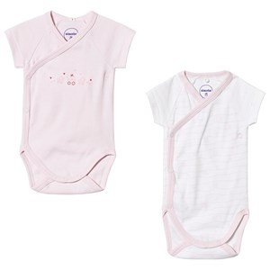 Image of Absorba Pale Pink Heart Wrap Body 2-Pack 12 months (3125347699)