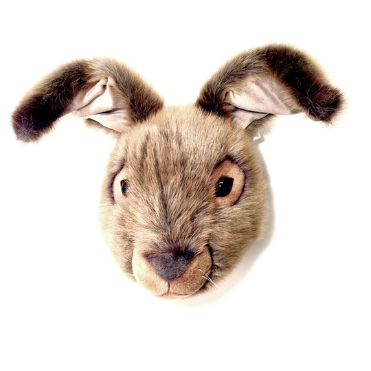 Roomfriends Hare Animal Head Brown