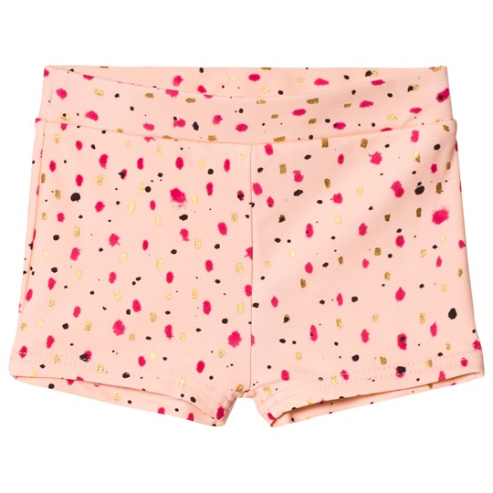 Soft Gallery Pamela Swim Trunk Peach Parfait Shimmy Peach Parfait AOP Shimmy