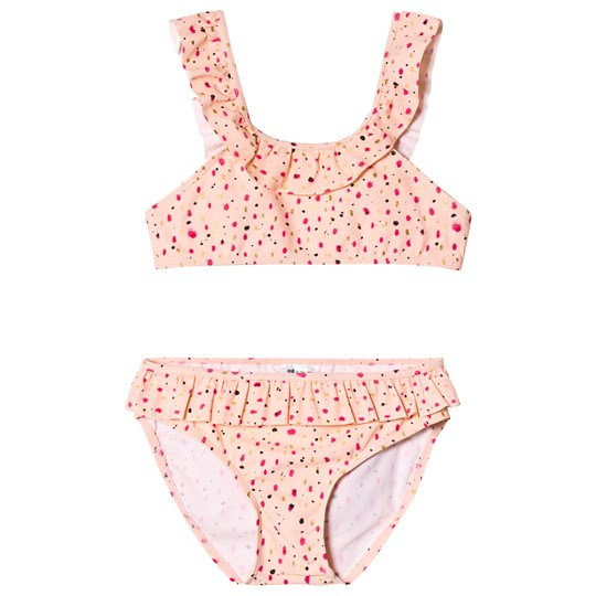 Soft Gallery Alicia Bikini Peach Parfait Peach Parfait AOP Shimmy