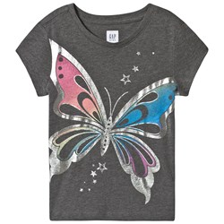 GAP Graphic Butterfly T-shirt Grey