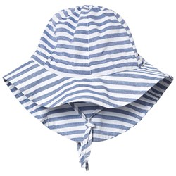ebbe Kids Rhodos Sun Hat Navy Stripes