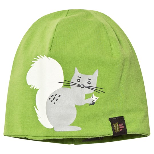 Kattnakken Garden Vendbare Hat Green Squirrel Green Squirrel