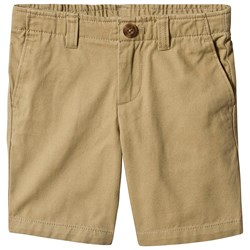 Lands' End Chino Cadet Shorts Beige