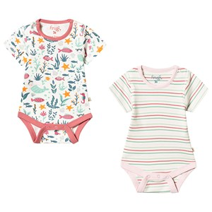 Image of Frugi Bailey 2 Pack Bodies 3-6 months (3151999827)