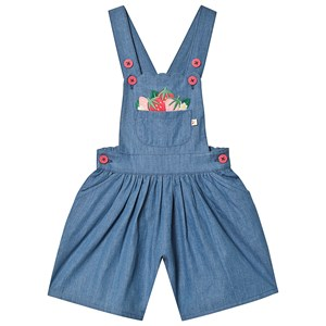 Image of Frugi Chambray Culotte Dungaree 6-7 years (3151999891)
